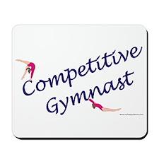 Competitive Gymnast Mousepad