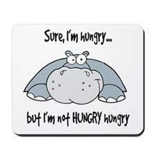 Hippo Hungry Mousepad