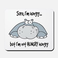Hippo Hungry Mousepad