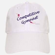 Competitive Gymnast Baseball Baseball Cap
