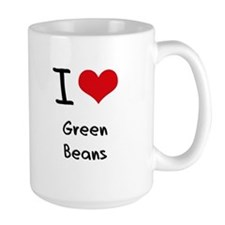 I Love Green Beans Mug