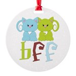 BFF - Best Friends Forever Cats Ornament