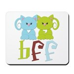 BFF - Best Friends Forever Cats Mousepad