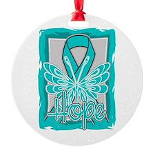 Batten Disease Hope Butterfly Ornament