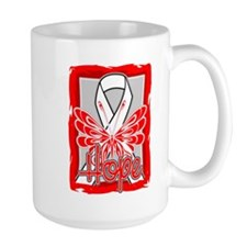 Aplastic Anemia Hope Butterfly Mug