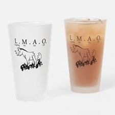 lmao Drinking Glass