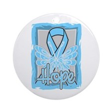 Addisons Disease Hope Ornament (Round)