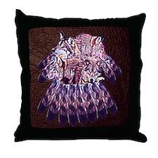 4 Wolves Dreamcatcher Throw Pillow