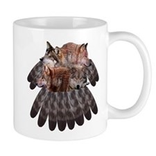 4 Wolves Dreamcatcher Mug