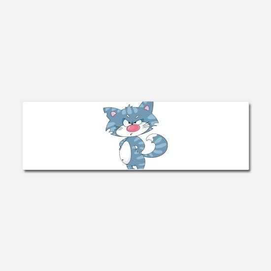 Unique Grumpy cat Car Magnet 10 x 3