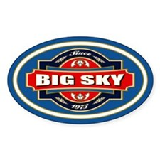 Big Sky Old Label Decal