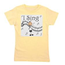 I Sing (FEMALE) Girl's Tee