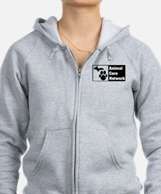 Cool Dog and cat non profit rescue group Zip Hoodie