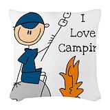 Camping Throw Pillows