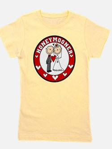 EMBROIDHONEYMOONER.png Girl's Tee