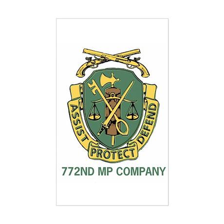 772 MP Company Sticker