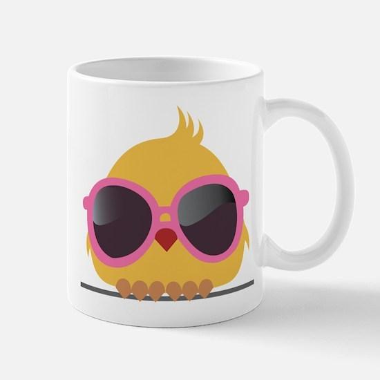 Chick Wearing Sunglasses Mug