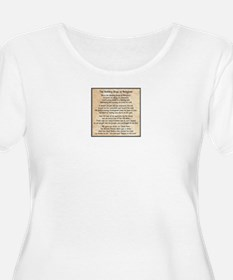 Benghazi Poem Plus Size T-Shirt