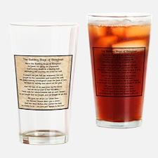 Benghazi Poem Drinking Glass