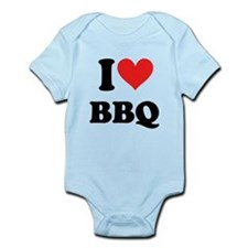 I Heart BBQ Body Suit