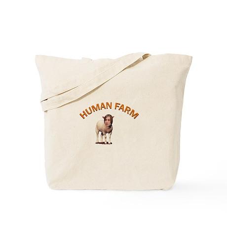 Human Farm Tote Bag