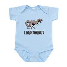 Liamsaurus Dinosaur Shirt Onesie