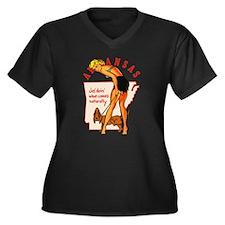 Arkansas Pinup Plus Size T-Shirt
