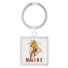 Maine Pinup Keychains