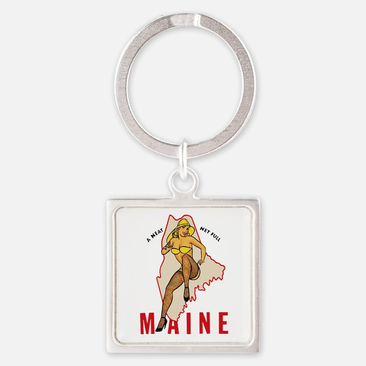 Maine Pinup Keychains
