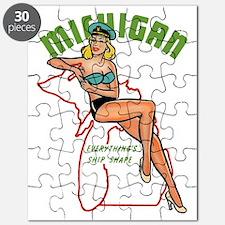 Michigan Pinup Puzzle