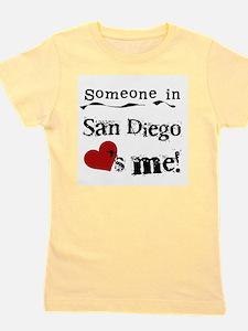 San Diego Loves Me Girl's Tee