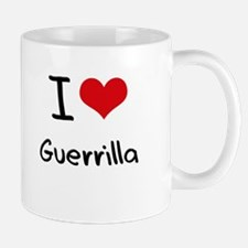 I Love Guerrilla Mug