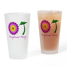 Flower power OT Drinking Glass
