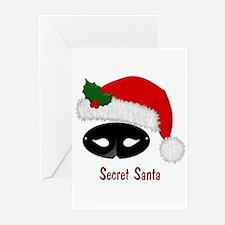 Secret Santa Blank Greeting Cards (Pk of 10)