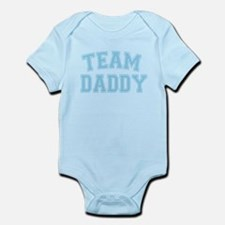 Team Daddy - Baby Blue Body Suit