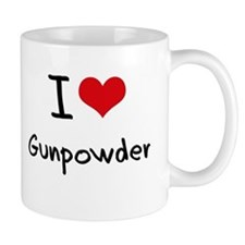I Love Gunpowder Small Mug