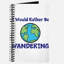 I would rather be Wandering Journal