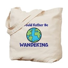 I would rather be Wandering Tote Bag