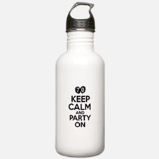 Keep calm 70 year old designs Water Bottle