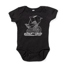 Gothic Baby Carriage Baby Bodysuit