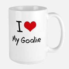I Love My Goalie Mug