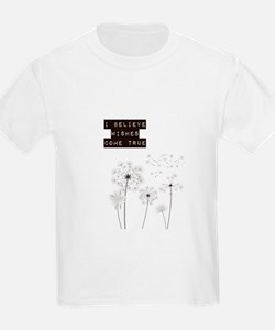 Believe in Wishes Dandelions T-Shirt