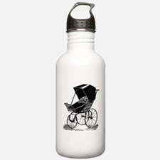Gothic Baby Carriage Water Bottle