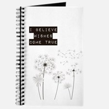 Believe in Wishes Dandelions Journal