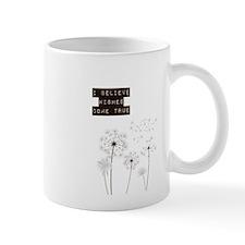 Believe in Wishes Dandelions Mug