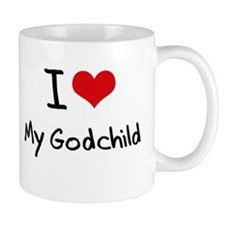 I Love My Godchild Mug
