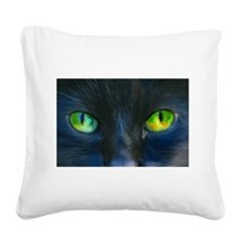 Herbs Eyes Square Canvas Pillow