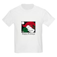 Knitters Happy Holidays Kids T-Shirt