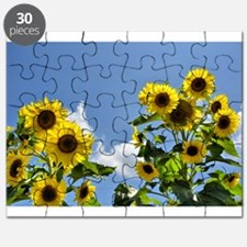 Sunflowers and Sky Puzzle