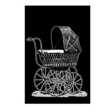 Victorian Baby Carriage Postcards (Package of 8)